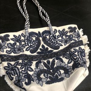 Anthropologie tote bag